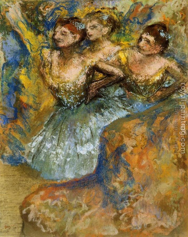 Edgar Degas : Group of Dancers II