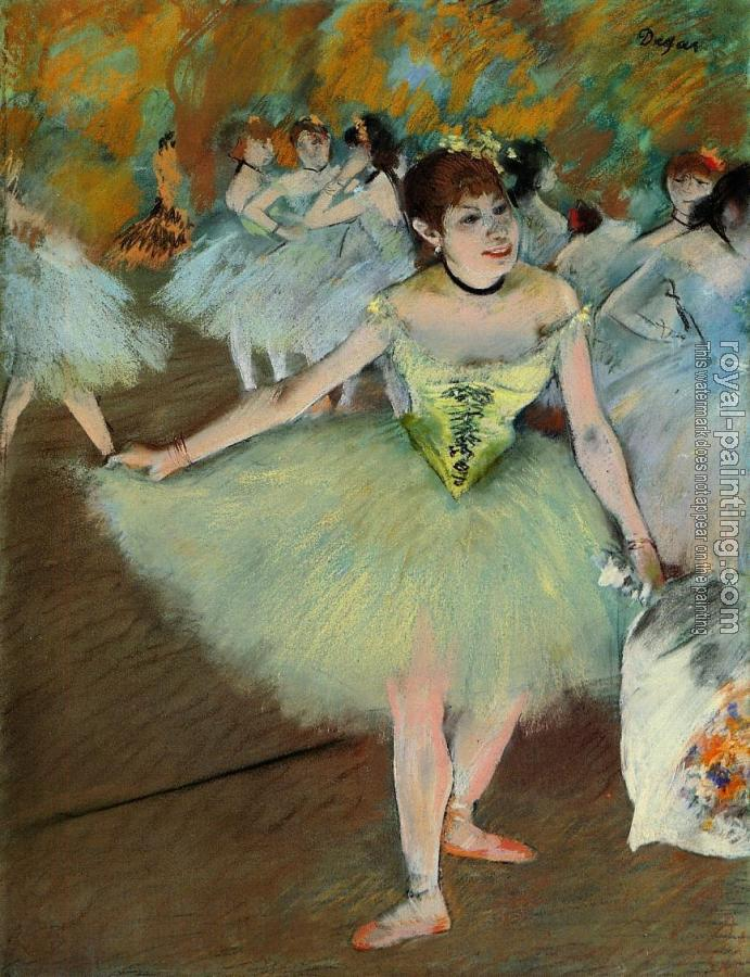 Edgar Degas : On Stage