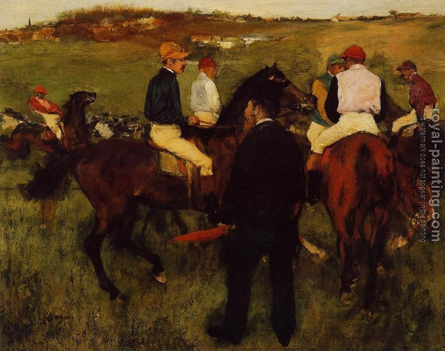 Edgar Degas : Out of the Paddock