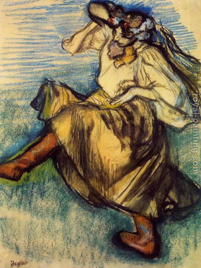 Edgar Degas : Russian Dancer II