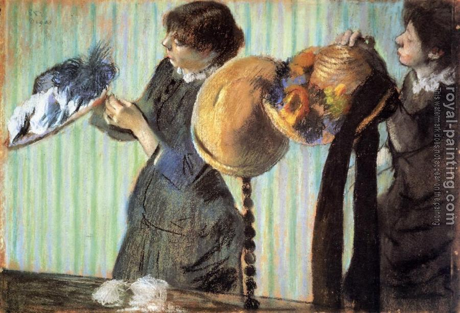 Edgar Degas : The Little Milliners