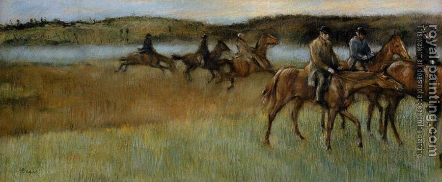 Edgar Degas : The Trainers