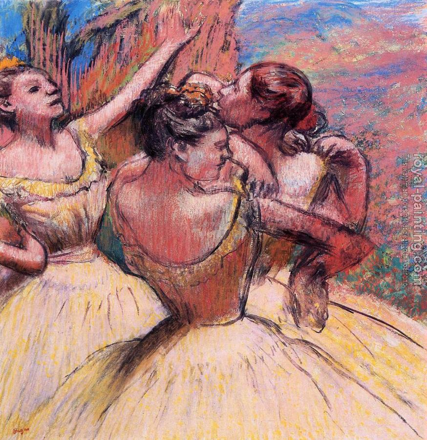 Edgar Degas : Three Dancers