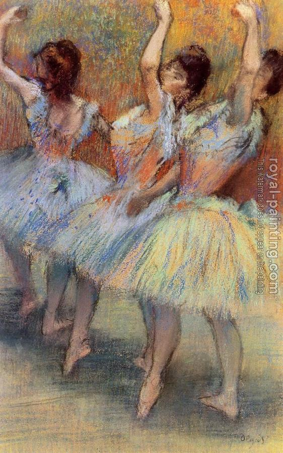 Edgar Degas : Three Dancers II