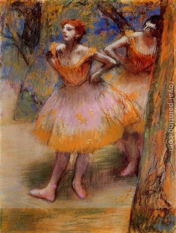 Edgar Degas : Two Dancers II