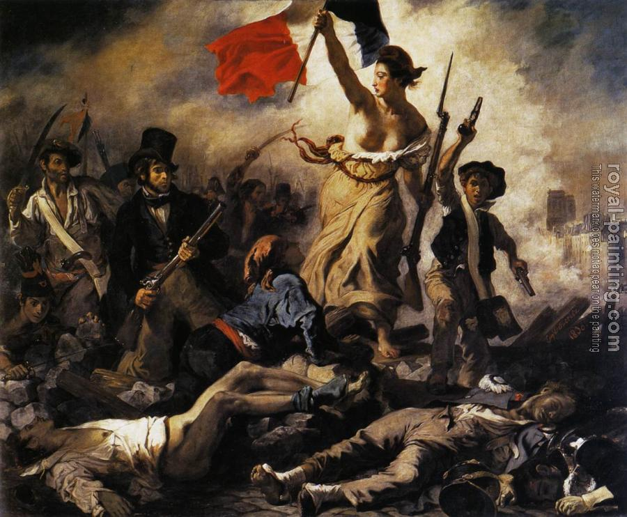 Eugene Delacroix : Liberty Leading the People (28th July 1830)