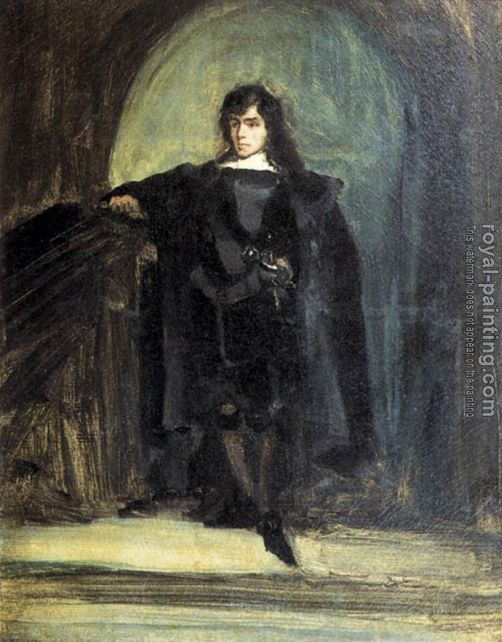 Eugene Delacroix : Self-Portrait as Ravenswood