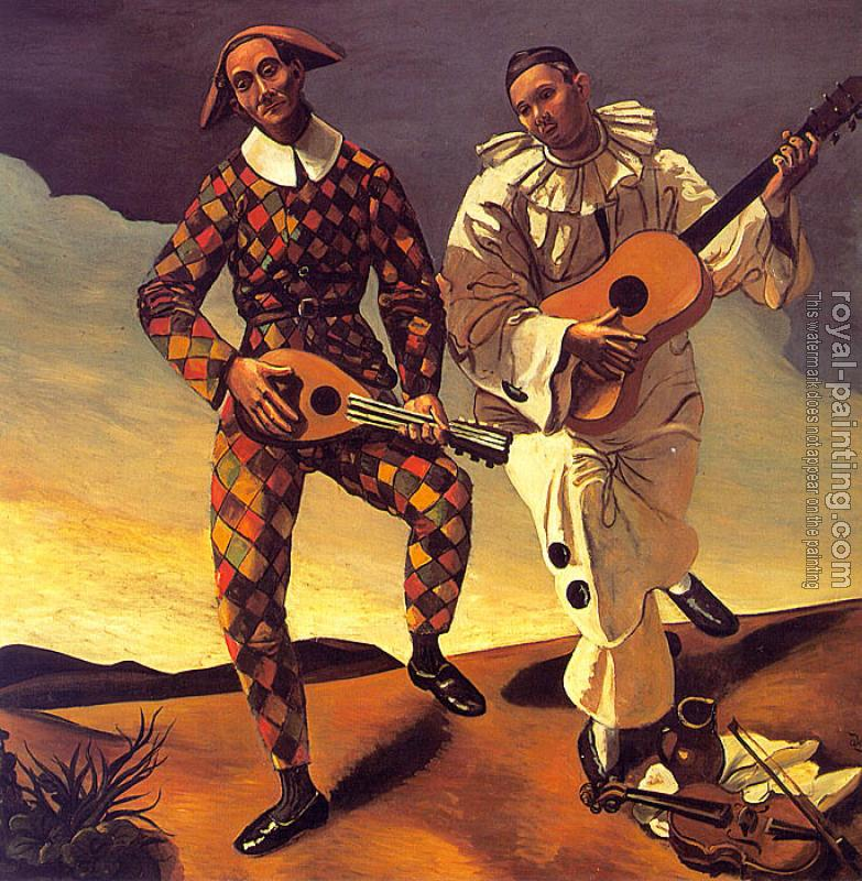 Andre Derain : Harlequin and Pierrot