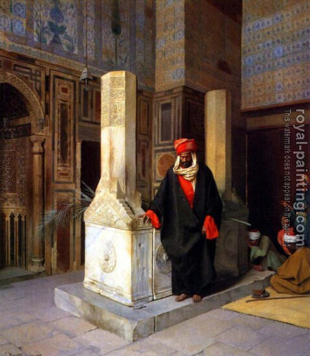Ludwig Deutsch : The Prayer at the Tomb