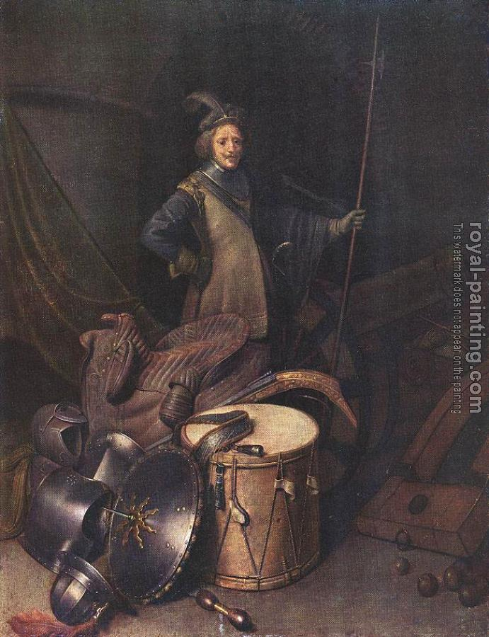 Gerrit Dou : Officer of the Marksman Society in Leiden