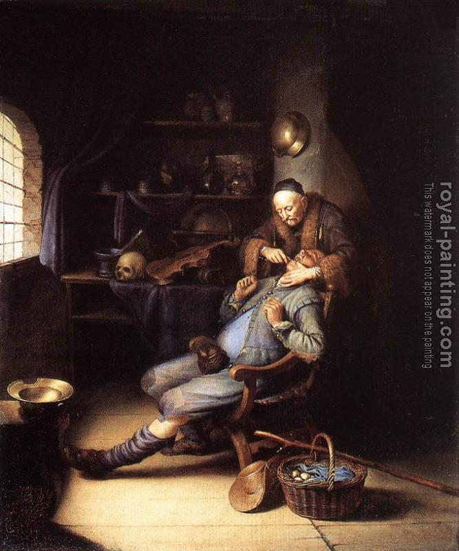 Gerrit Dou : The Extraction of Tooth