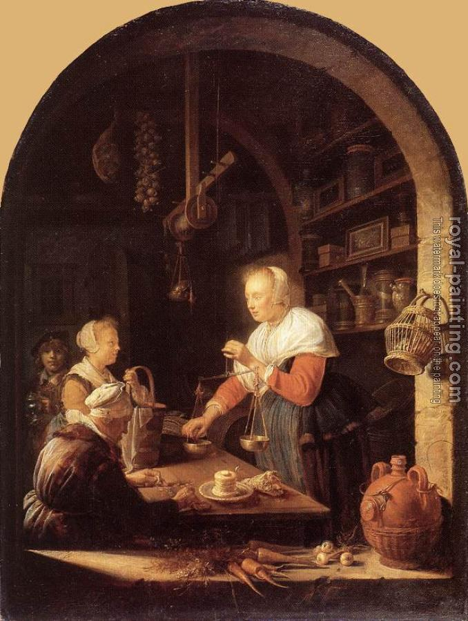 Gerrit Dou : The Grocers Shop