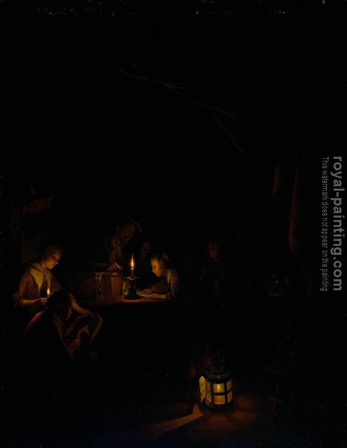 Gerrit Dou : The Night School