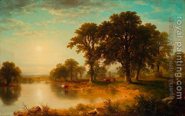 Asher Brown Durand : Summer Afternoon
