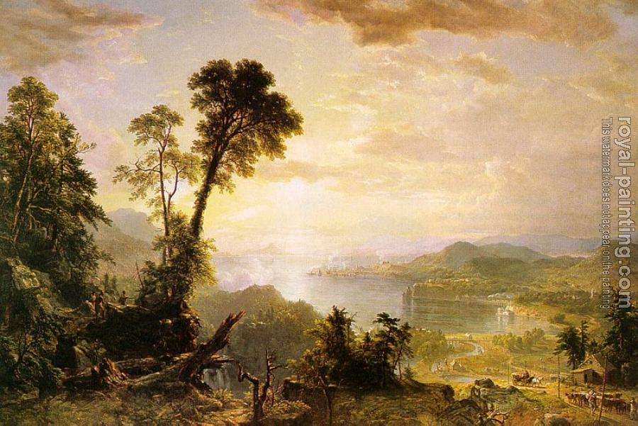 Asher Brown Durand : Progress (The Advance of Civilization)