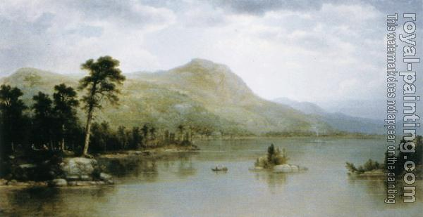 Asher Brown Durand : Black Mountain from the Harbor Islands, Lake George