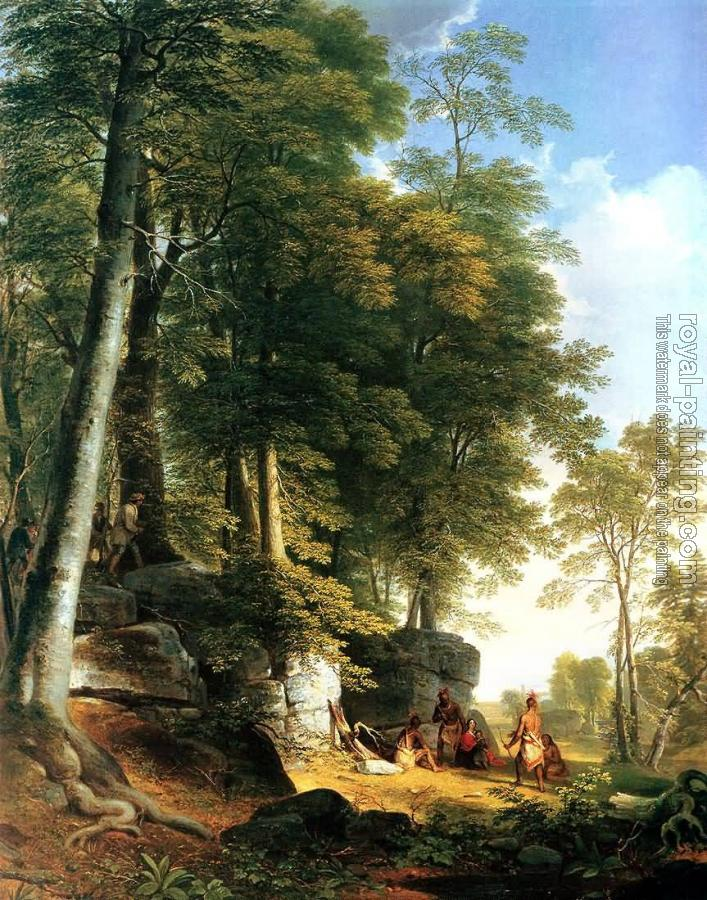 Asher Brown Durand : A Creek in the Woods