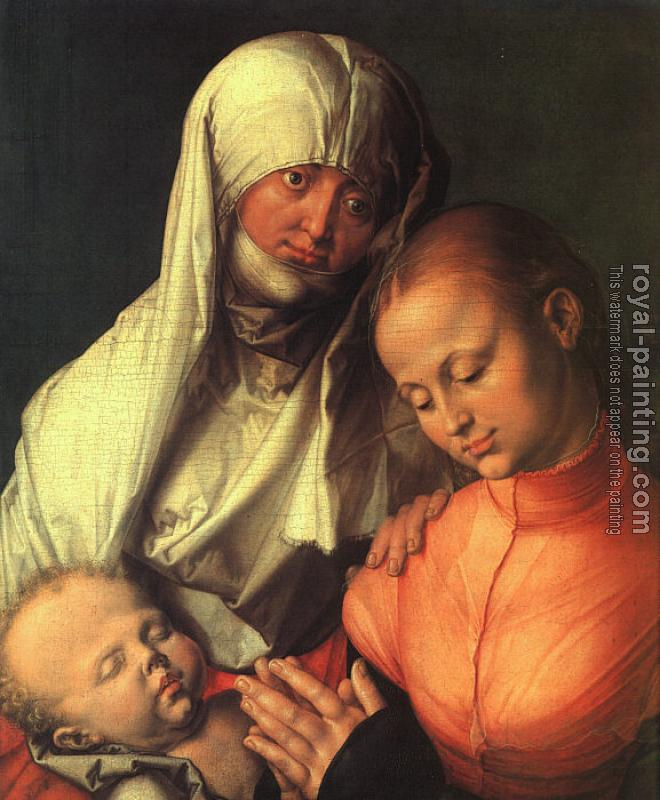 Albrecht Durer : Virgin and Child with Saint Anne