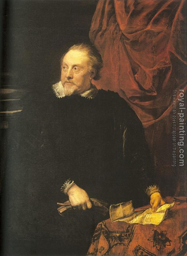 Anthony Van Dyck : Portrait of Mark-Antoine Lumagne
