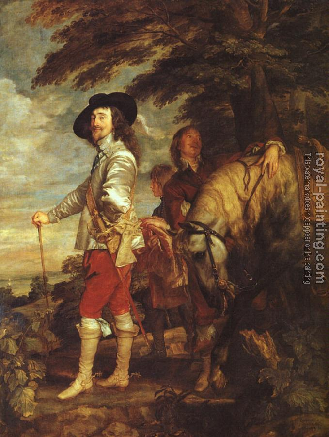 Anthony Van Dyck : Charles I King of England at the Hunt