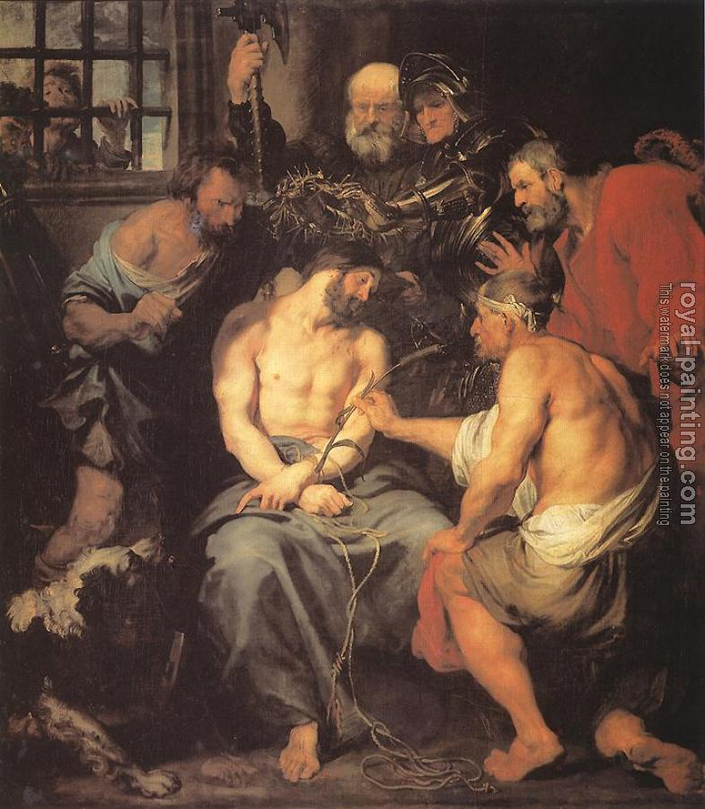 Anthony Van Dyck : Crowning with Thorns