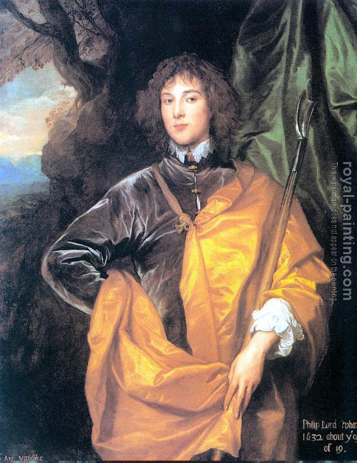 Anthony Van Dyck : Philip, Fourth Lord Wharton