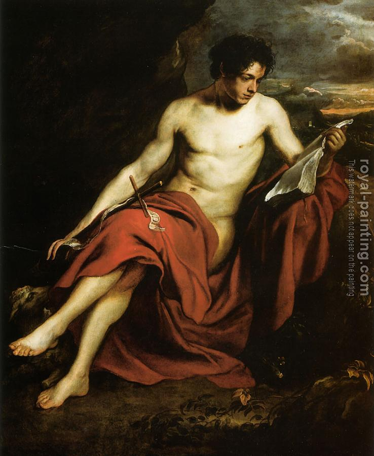 Anthony Van Dyck : Saint John the Baptist in the Wilderness