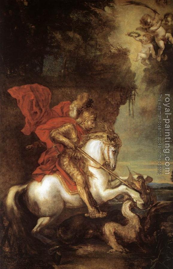 Anthony Van Dyck : St George and the Dragon