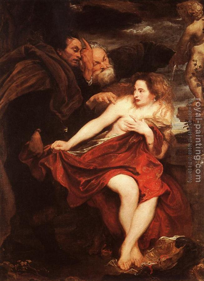 Anthony Van Dyck : Susanna and the Elders