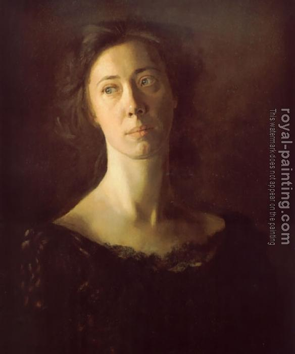 Thomas Eakins : Clara (Clara J. Mather)