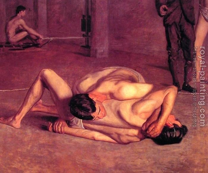 Thomas Eakins : The Wrestlers
