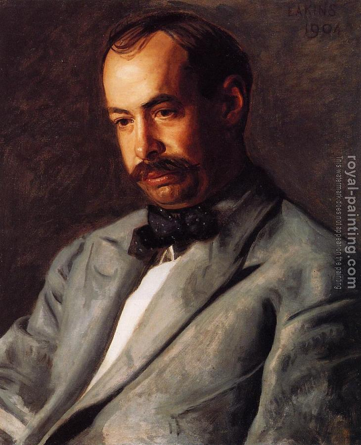 Thomas Eakins : Portrait of Charles Percival Buck