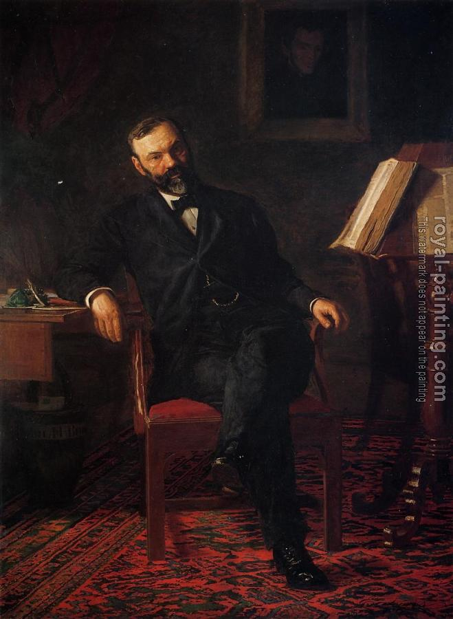 Thomas Eakins : Portrait of Dr. John H. Brinton