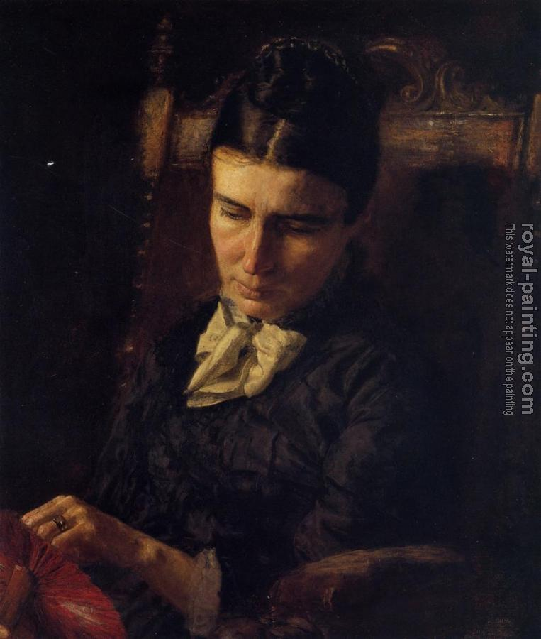 Thomas Eakins : Portrait of Sarah Ward Brinton