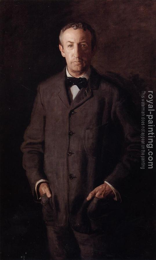Thomas Eakins : Portrait of William B. Kurtz