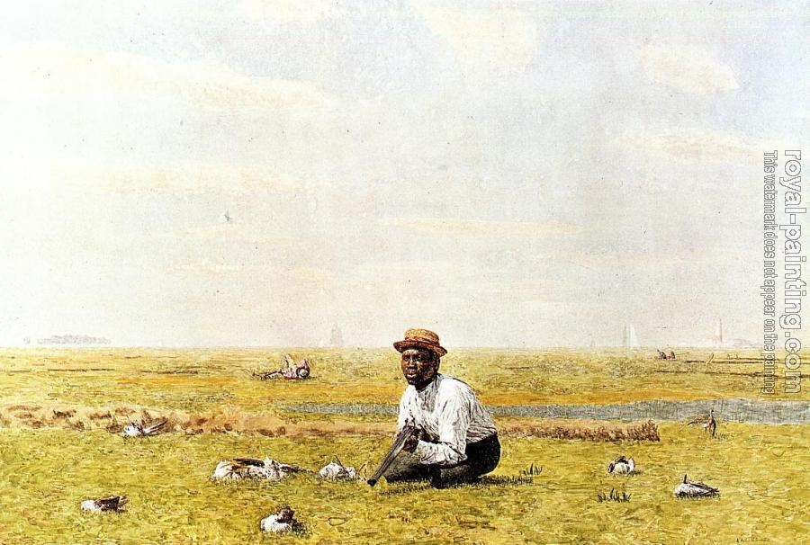 Thomas Eakins : Whistling for Plover