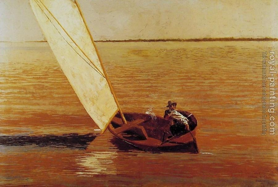 Thomas Eakins : Sailing