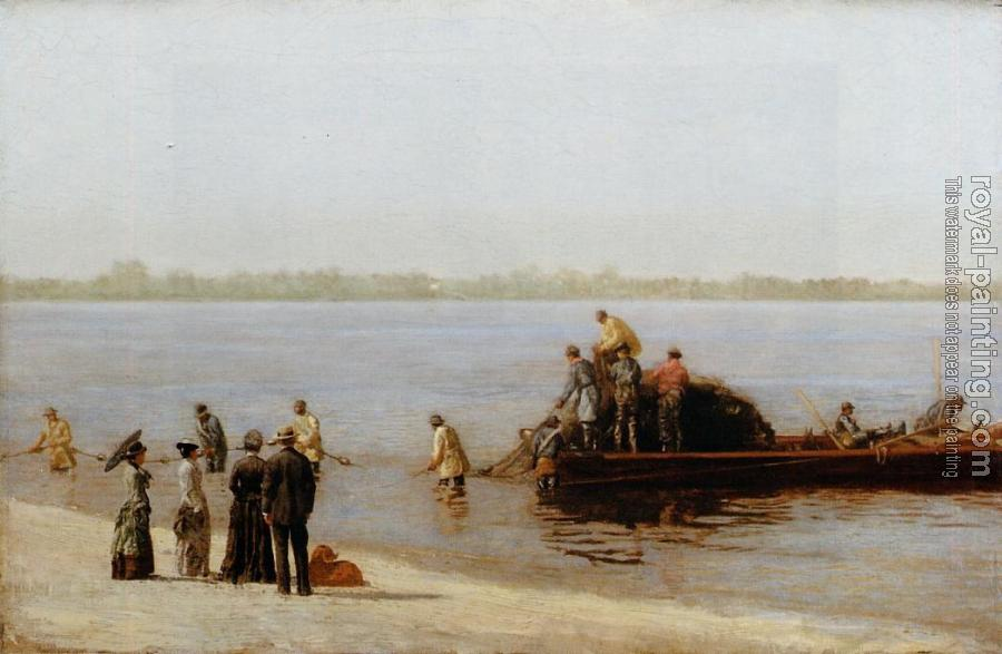 Thomas Eakins : Shad Fishing at Gloucester on the Delaware River