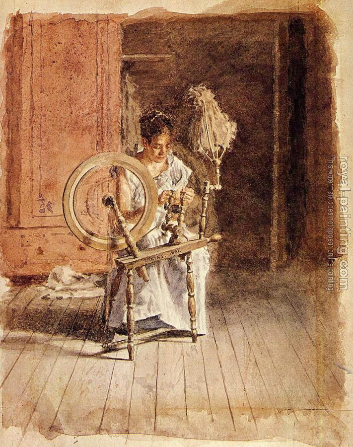 Thomas Eakins : Spinning