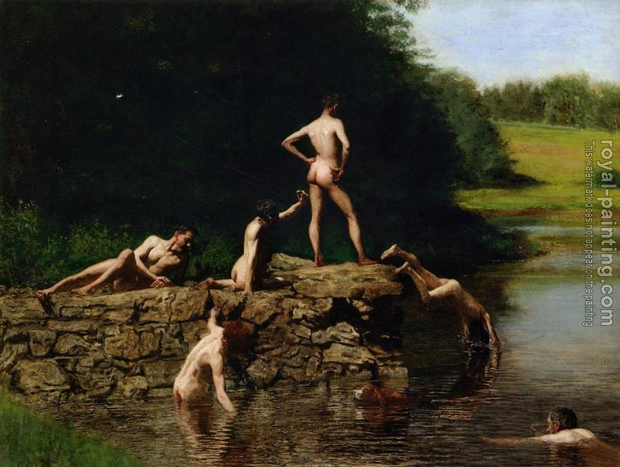 Thomas Eakins : Swimming