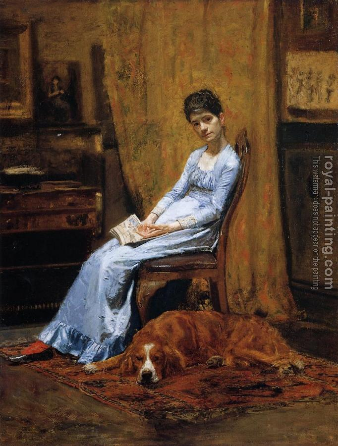 Thomas Eakins : The Artist's Wife and His Setter Dog