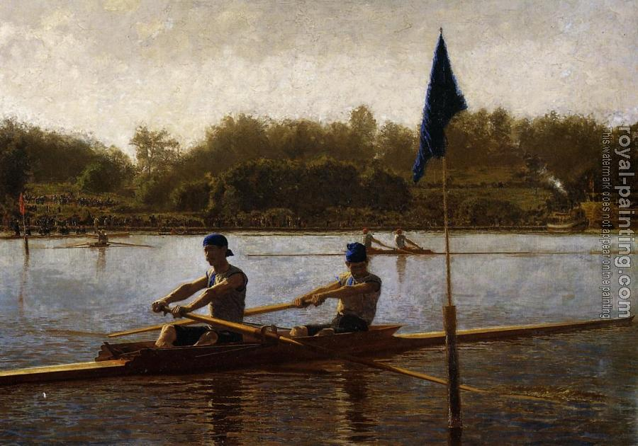 Thomas Eakins : The Biglin Brothers Turning the Stake Boat