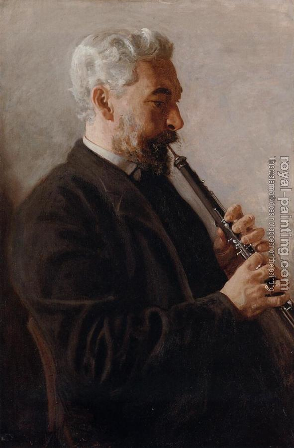 Thomas Eakins : The Oboe Player