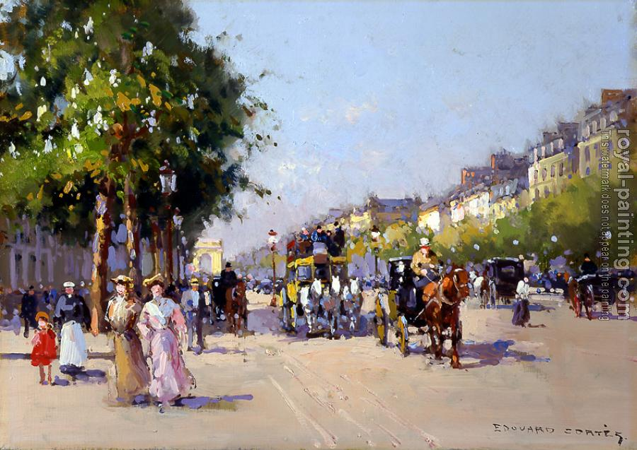 Edouard Cortes : Champs Elysees, Clemenceau