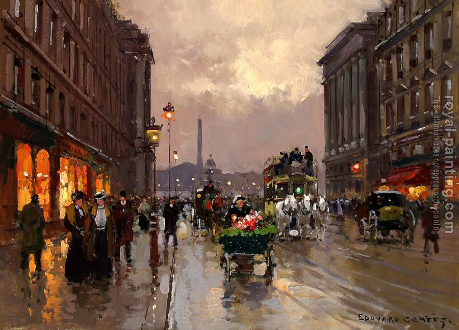 Edouard Cortes : Concorde and Rue Royale