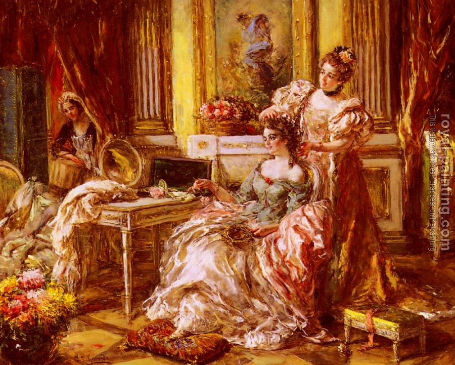 Eduardo Leon Garrido : Preparing For The Ball