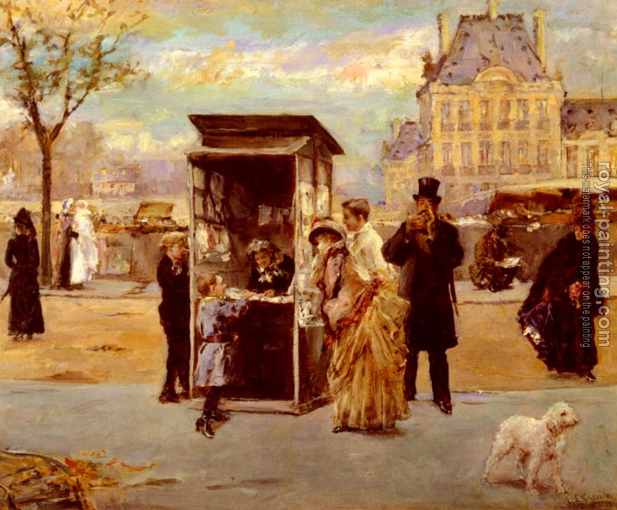 The Kiosk By The Seine