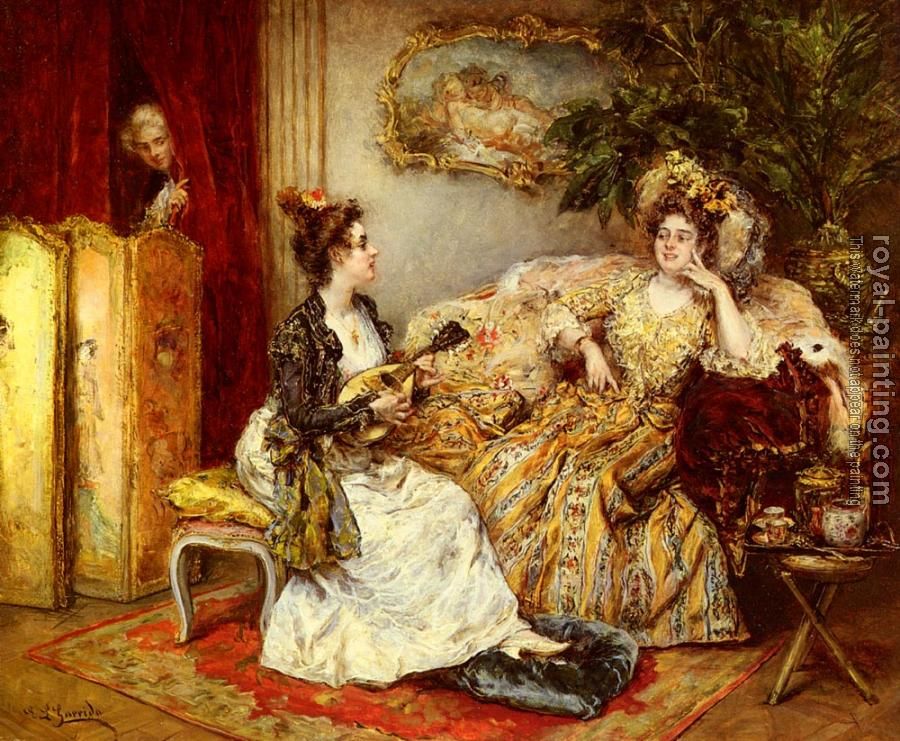 Eduardo Leon Garrido : The Serenade