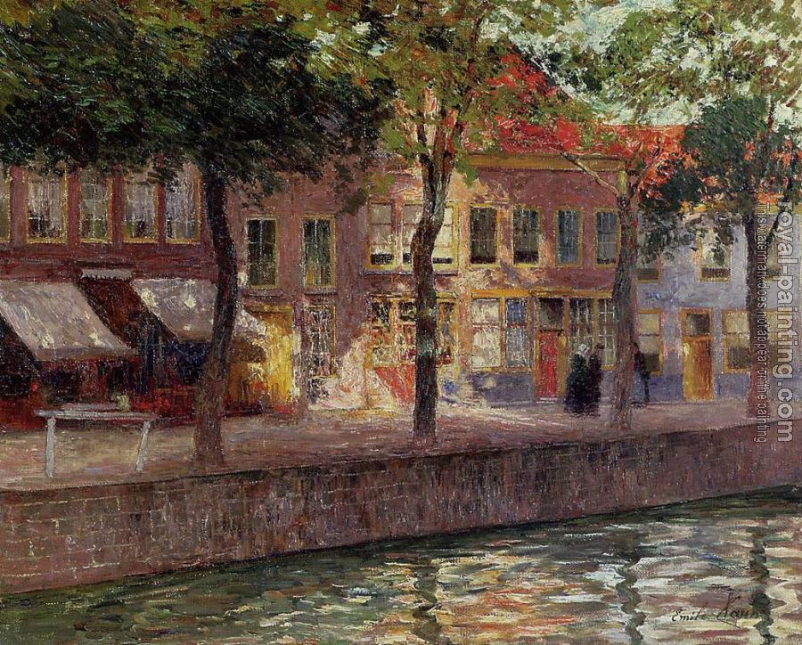 Emile Claus : Canal in Zeeland