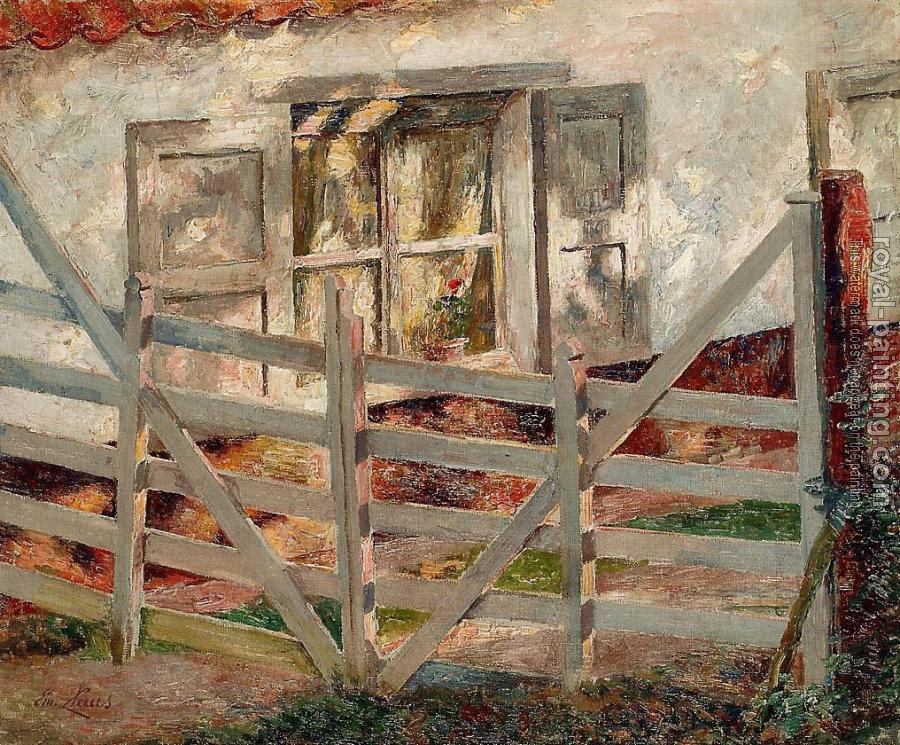 Emile Claus : The Gate